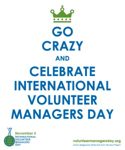 International Volunteer Managers Day poster